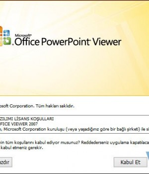 PowerPoint Viewer 2007 Ekran Görüntüleri - 4