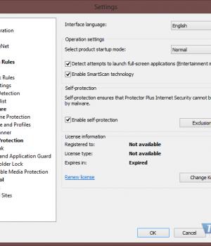 Protector Plus Internet Security Ekran Görüntüleri - 3