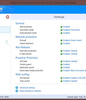 Protector Plus Internet Security Ekran Görüntüleri - 2