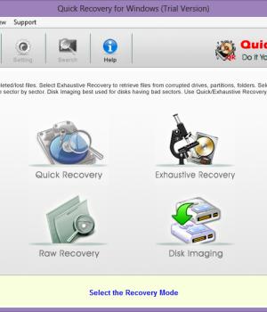Quick Recovery for Windows Ekran Görüntüleri - 1