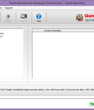 Quick Recovery for Windows Ekran Görüntüleri - 2