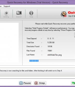 Quick Recovery for Windows Ekran Görüntüleri - 4