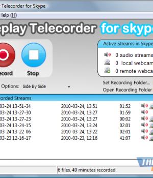 Replay Telecorder for Skype Ekran Görüntüleri - 2