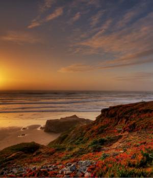 Sahil Gün Batımları Teması Ekran Görüntüleri - 1