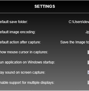 Screen Capture WPF Ekran Görüntüleri - 3
