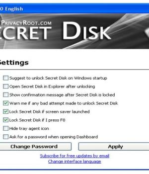 Secret Disk Ekran Görüntüleri - 1