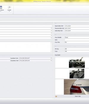 SFIRent Oto Kiralama Yönetim Sistemi Ekran Görüntüleri - 3