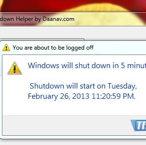 Shutdown Helper Ekran Görüntüleri - 2