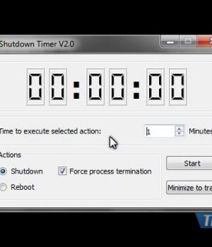 Shutdown Timer Ekran Görüntüleri - 1