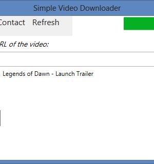 Simple Video Downloader Ekran Görüntüleri - 1