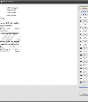 Sınav Yap Ekran Görüntüleri - 2