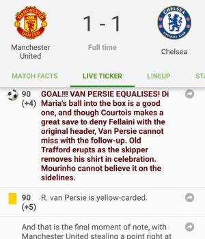 Soccer Scores Ekran Görüntüleri - 4