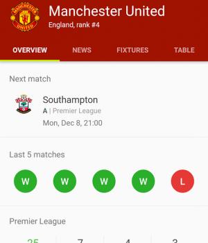 Soccer Scores Ekran Görüntüleri - 2