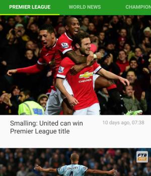 Soccer Scores Ekran Görüntüleri - 1