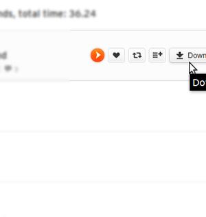SoundCloud Downloader for Firefox Ekran Görüntüleri - 3