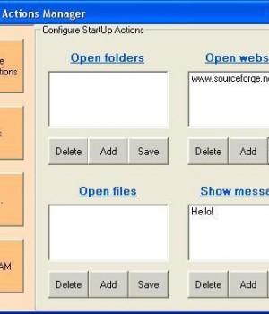 StartUp Actions Manager Ekran Görüntüleri - 1