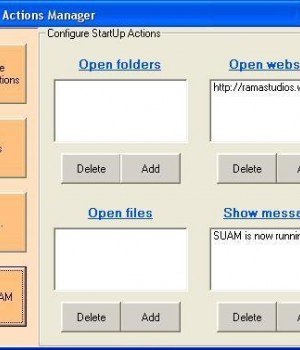 StartUp Actions Manager Ekran Görüntüleri - 3