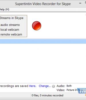 SuperTintin Skype Recorder Ekran Görüntüleri - 2