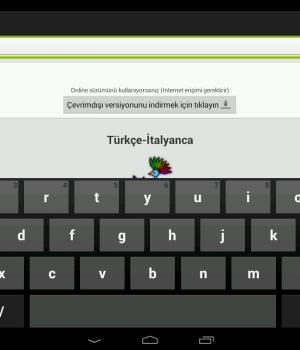 Türkçe-İtalyanca Sözlük Ekran Görüntüleri - 10
