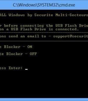USB Write Blocker Ekran Görüntüleri - 1