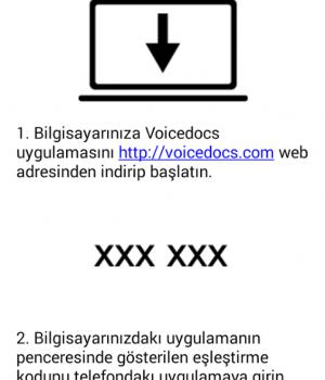 Voicedocs Ekran Görüntüleri - 2