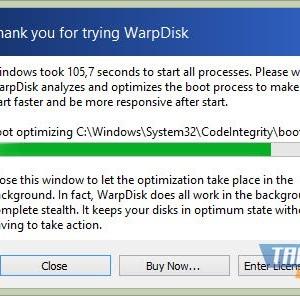WarpDisk Ekran Görüntüleri - 1