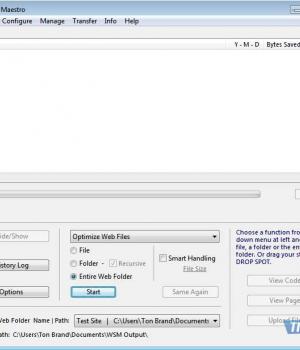 Web Site Maestro Ekran Görüntüleri - 3