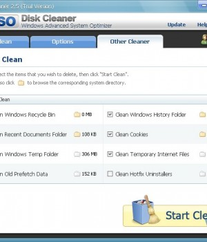 WinASO Disk Cleaner Ekran Görüntüleri - 2