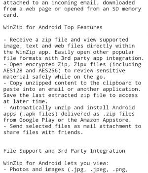 WinZip Android Ekran Görüntüleri - 4
