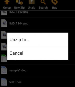 WinZip Android Ekran Görüntüleri - 3