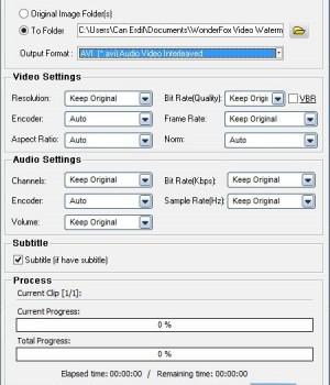 WonderFox Video Watermark Ekran Görüntüleri - 1