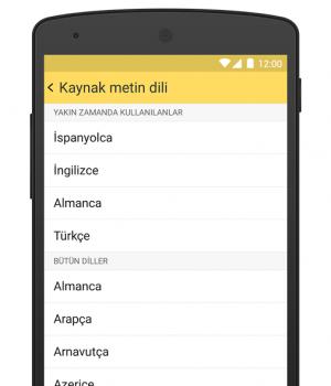 Yandex.Çeviri Ekran Görüntüleri - 8