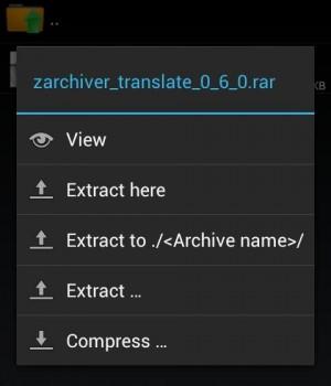 ZArchiver Ekran Görüntüleri - 5