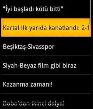 Andro Beşiktaş Haber Ekran Görüntüleri - 2
