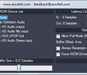 Asio4All Ekran Görüntüleri - 2