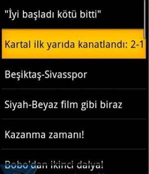 Andro Beşiktaş Haber Ekran Görüntüleri - 3