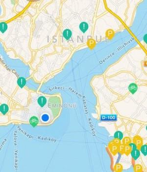Bisikletli Ulaşım Haritası Ekran Görüntüleri - 1