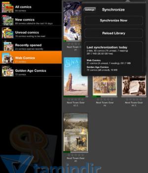 ComicRack Ekran Görüntüleri - 3