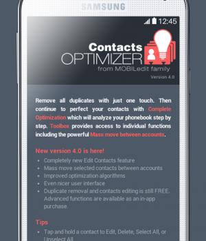 Contacts Optimizer Ekran Görüntüleri - 4