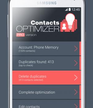 Contacts Optimizer Ekran Görüntüleri - 3
