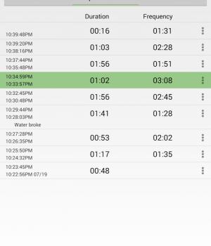 Contraction Timer Ekran Görüntüleri - 4