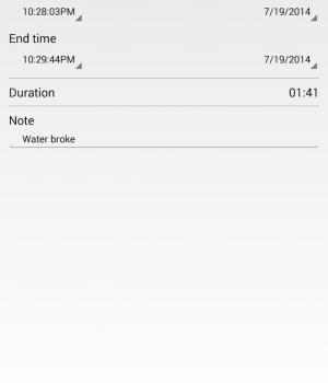 Contraction Timer Ekran Görüntüleri - 1