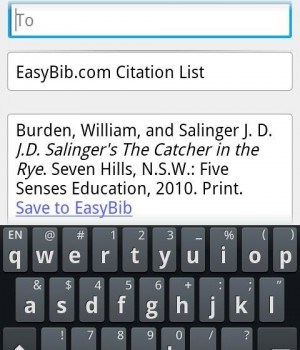 EasyBib Ekran Görüntüleri - 1