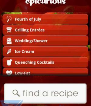 Epicurious Recipe App Ekran Görüntüleri - 2
