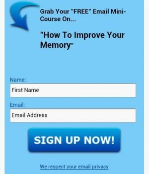 Improve Your Memory Ekran Görüntüleri - 1