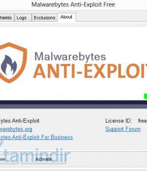 Malwarebytes Anti-Exploit Ekran Görüntüleri - 1