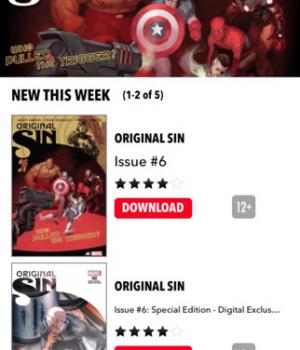 Marvel Comics Ekran Görüntüleri - 1