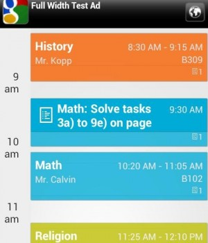 My Class Schedule: Timetable Ekran Görüntüleri - 5