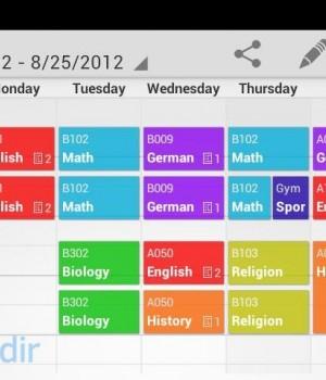 My Class Schedule: Timetable Ekran Görüntüleri - 3