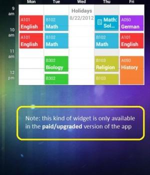 My Class Schedule: Timetable Ekran Görüntüleri - 2